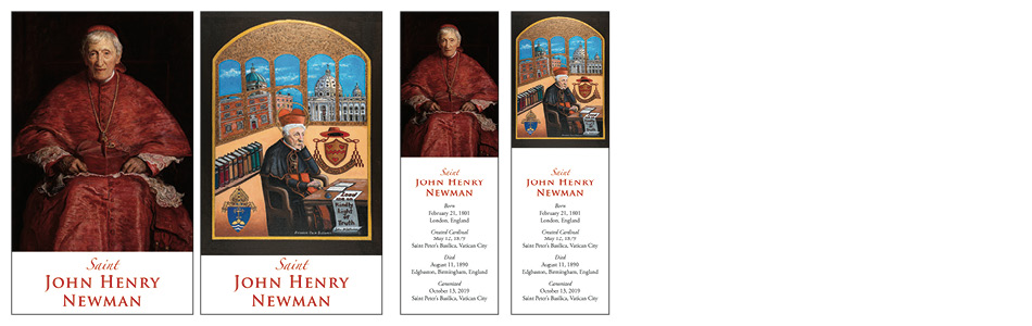 Prayer Cards for the Canonization of Cardinal John Henry Newman